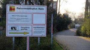 Reisemobilhafen Koeln3