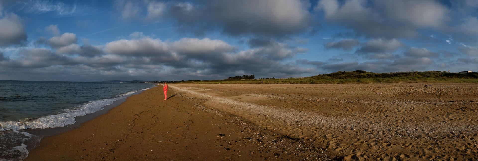 Strand bei Franceville-Plage