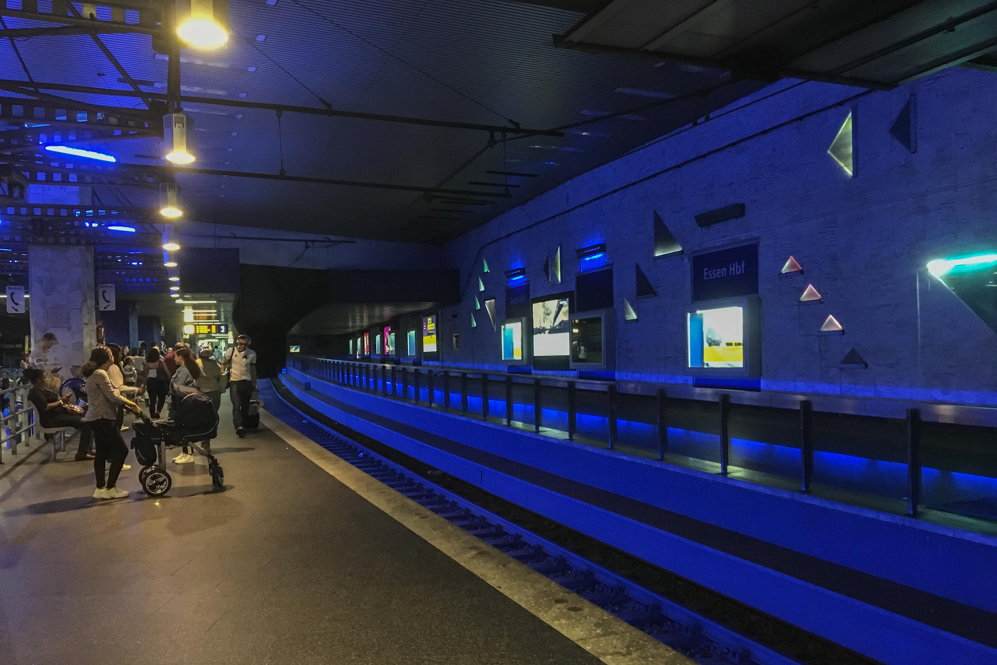 Mit dem Wohnmobil ins Ruhrgebiet - Essen U-Bahn