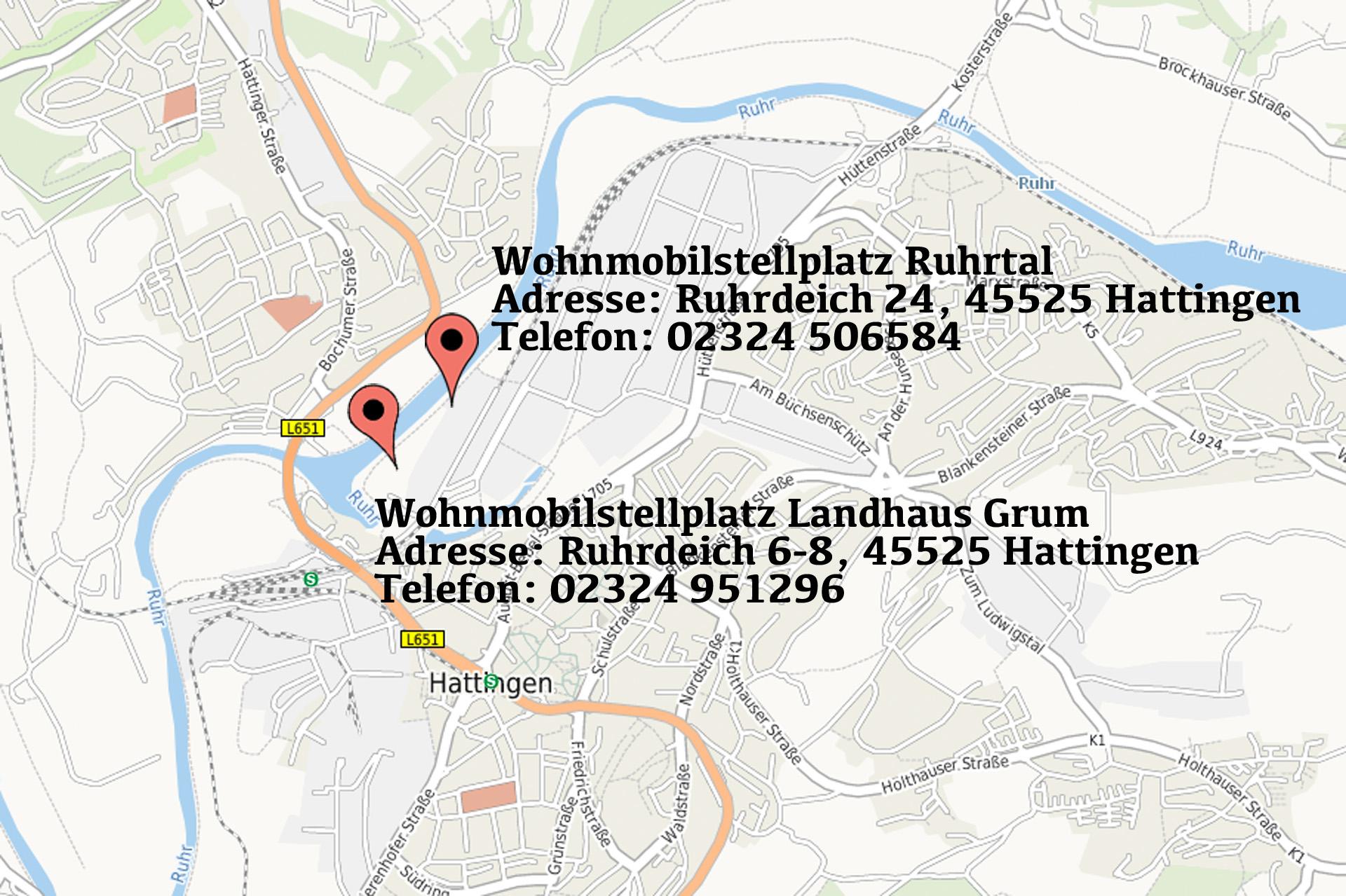 Mit dem Wohnmobil ins Ruhrgebiet - Stellplätze Hattingen